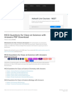 MCQ Questions for Class 10 Science with Answers PDF Download - Learn CBSE.pdf