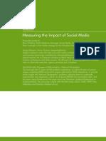 Workbook Measuring Social Media Impact