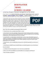 Who is the Accountable Financial Management Officer for schools
