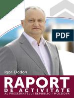 Raport Igor Dodon