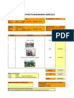 Anexo 6 Presupuesto Maquinarias