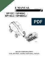 SP12C - SP14CJ Service manual