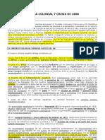 APUNTES ALUMNOS DESASTRE 98 Y REGENERACIONISMO 2010 2011