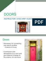 Topic 78 Doors.pptx