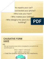 Causative Form