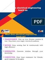What does electrical engineering teach us