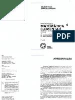 4 – Sequências Matrizes Determinantes Sistemas
