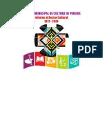 INFORME DEL CONSEJO MUNICIPAL DE CULTURA DE PEREIRA 2017 - 2020 (PUBLICACIÓN)