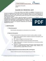 guia para formulacion de proyectos locti
