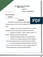 Florida Bar v Kurt D. Mitchell and Nicholas Francis Mooney