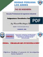 ESQUEMA DE INVESTIGACIÓN ESTADÍSTICA