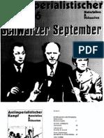 Textesammlung Schwarzer September, December 1972
