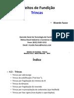 Defeitos de Fundição - 5 - Trincas - Cintec 2014.pdf