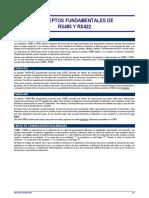 conceptos fundamentales de rs485 y rs422 - español