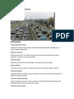 DEFINICIONES DE ESTUDIO DE TRANSITOS