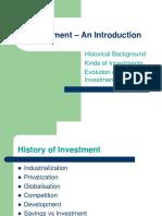 Investment Law Evolution