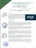 Ordenanza N 012-2011-mde (1)