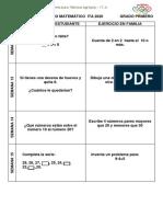 CALENDARIO MATEMATICO PRIMERO SEM                      12-15