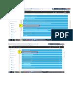 étape de depôt de fichier sur la plateforme e-learling