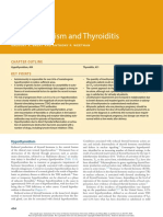 Hypothyroidism and Thyroiditis