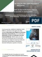 EDUCACIÓN EN CASA