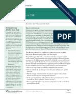 CFO Key 2011 Priorities