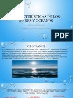 Características de los mares y océanos