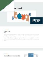 Cohesion Textual