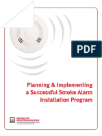 Smoke Alarm Installation Guide