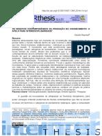 Desafios Contemporaneos Da Produção Do Conhecimento - Interdisciplinaridade 21-08