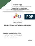 Environnement Telecoms