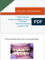 Necrotizing Ulcerative Periodontitis