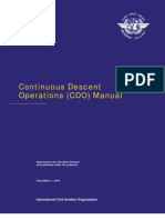 Doc 9931 Continuous Descent Operations (CDO) Manual English