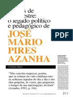 JOSÉ MÁRIO PIRES AZANHA_LEGADO