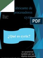 procesadores cyrix