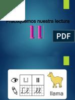 LECTURA PALABRAS Ll