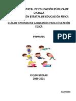 GUIA DE APRENDIZAJE EDUCACIÓN FÍSICA PRIMARIA