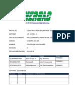 C-06-Pro-007_025 Procedimiento de Prueba de Continuidad