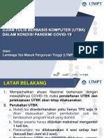 Sosialisasi UTBK-2020 Covid-19