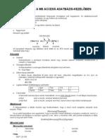 MS Access kifejezések-2009