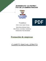 FORMACION DE EMPRESA