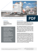 CarbonCure Whitepaper Impact of CO2 Utilization in Fresh Concrete on Corrosion of Steel Reinforcement
