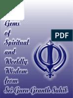 Gems from Guru granth saheb ji