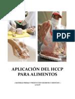 APLICACIÓN DEL HCCP PARA ALIMENTOS