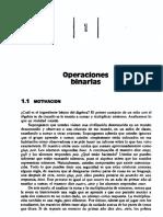 OPERACIONES BINARIAS de Fraleigh
