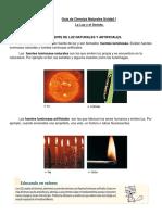 Guía 3 Ciencias Naturales