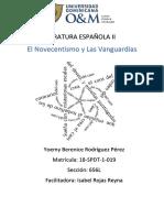 El Novecentismo y Las Vanguardias
