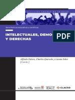 Intelectuales democracias y derechas. Alfredo Falero, Charles Quevedo y Lorena Soler (Coords.)