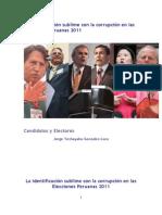 La identificación sublime con la corrupción en las elecciones peruanas 2011