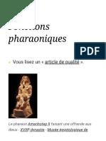Fonctions pharaoniques — Wikipédia